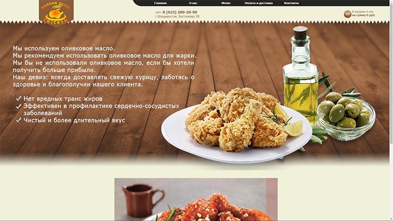 Компания «Korean fried chiken»