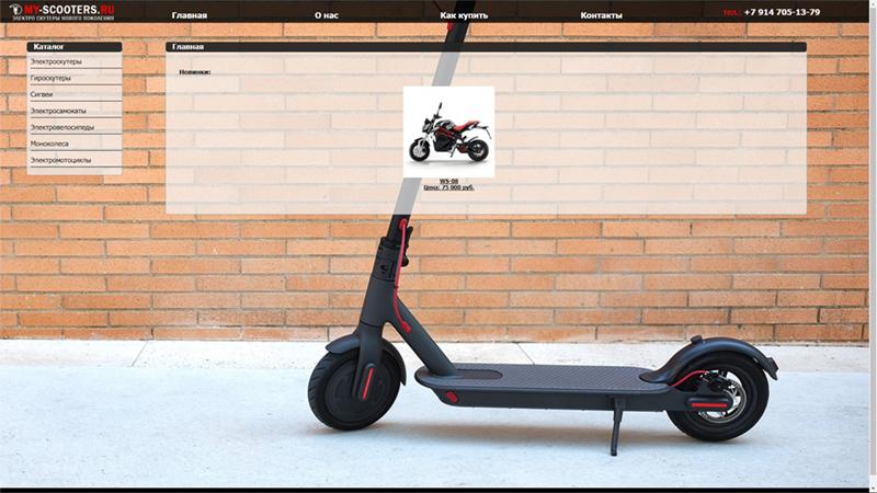Компания «My-scooters.ru»